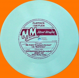 "Various ‎– Playback - The Flexi Melody Maker/ Red Stripe Flexi-disc, 7"", 33 ⅓ RPM, White"