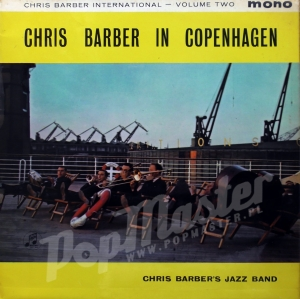 Chris Barber In Copenhagen Volume Two MONO 33sx 1274 Green Golden Label Jazz Discos de vinilo, disques vinyles, disco de vinil