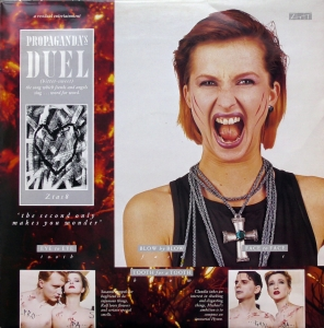 "Propaganda ‎– Duel ZTT ‎– 12 ZTAS 8 Vinyl, 12"", Single, 45 RPM"
