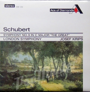 "Schubert Symphony No. 9 In C Major "" The Great"" London Symphony Josef Krips SDD 153 Ace of Diamonds"