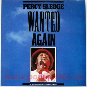 Percy Sledge  Wanted Again The Country Sessions 1986/87 FIEND 140