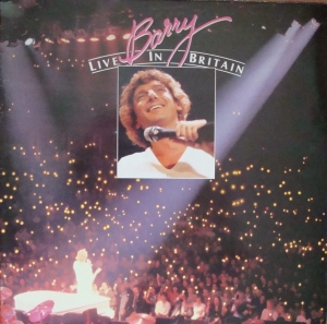 Barry Manilow ‎– Barry Live In Britain  ARTV 4  Vinyl