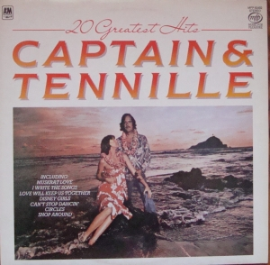 Captain And Tennille ‎– 20 Greatest Hits MFP 50492 Pop