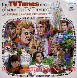 Jack Parnell And His Orchestra The TV Times Record Of Your Top TV Themes SPR 900035 STEREO