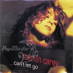 "Mariah Carey  Can't Let Go   Columbia ‎– 657662 7 Vinyl, 7"", 45 RPM, Single"