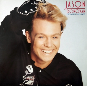Jason Donovan ‎– Between The Lines + Poster PWL Records ‎– HF 14