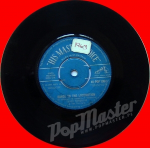 Teddy Randazzo And The Dazzlers Dance To The Locomotion 45-POP 1067