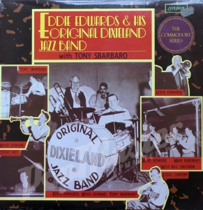 Eddie Edwards & His Original Dixieland Jazz Band With Tony Sbarbaro  MONO HMC 5014 Jazz Schallplatten