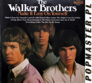 The Walker Brothers ‎– Make It Easy On Yourself Contour ‎– CN 2017 Vinyl, LP  Orange Label