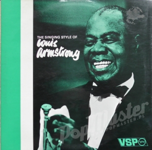 Louis Armstrong The Singing Style Of Louis Armstrong VSP.7/8 Jazz Vinyl Records
