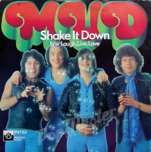 Mud Shake It Down PVT 65 7'' Single Glam Rock Winyl