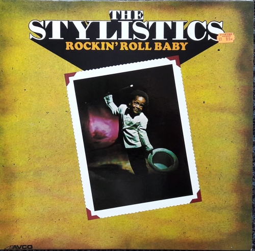 The Stylistics ‎– Rockin' Roll Baby Avco Records ‎– 6466 012 Vinyl, LP, Album