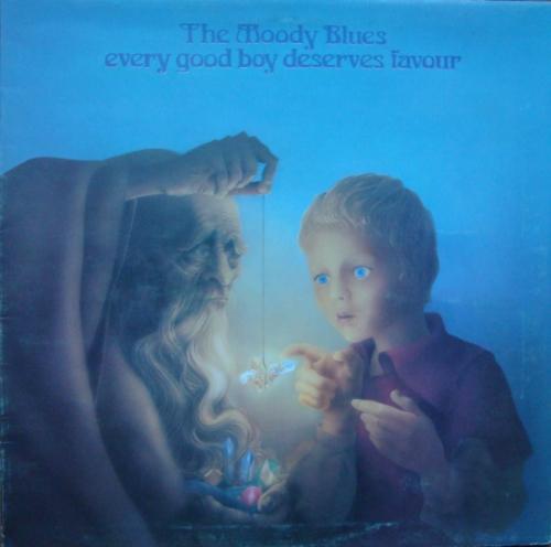 The Moody Blues  Every Good Boy Deserves Favour Matrix XZ AL-18 / 10638 XZ  AL 639