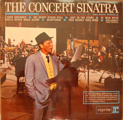 Frank Sinatra The Concert Sinatra R 1009 Jazz Swing Winyle