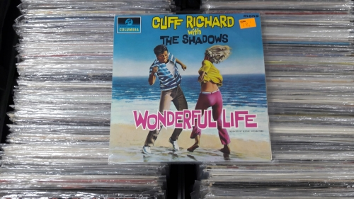 Cliff Richard With The Shadows ‎– Wonderful Life ,Columbia ‎– 33SX 1628 Mono