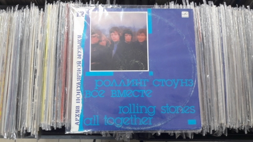 Роллинг Стоунз = Rolling Stones ‎– Все Вместе = All Together Мелодия ‎– C60 28807 006 Vinyl, LP, Compilation, Unofficial Release, Red labels