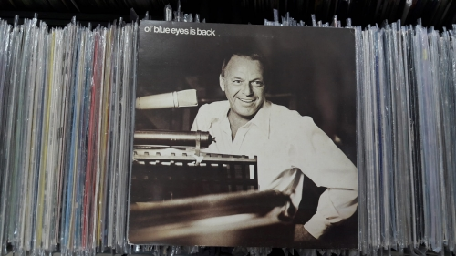 Frank Sinatra ‎– Ol' Blue Eyes Is Back Reprise Records ‎– K 44249 Vinyl, LP, Album, Gatefold