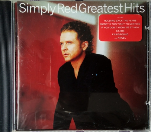 Simply Red ‎– Greatest Hits EastWest ‎– 0630-16552-2