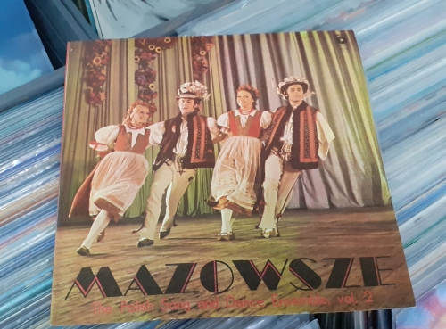 Mazowsze ‎– Mazowsze - The Polish Song And Dance Ensemble Vol. 2 Polskie Nagrania Muza ‎– SX 142