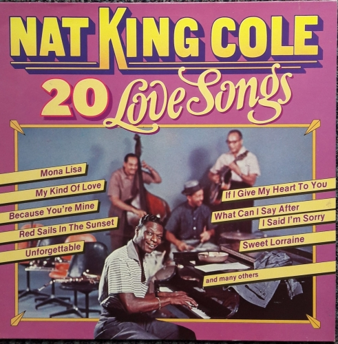 Nat King Cole ‎– 20 Love Songs MP Records ‎– MP 666007 Vinyl, LP
