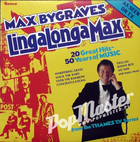 Max Bygraves LinglongaMax 20 Great Hits 50 Years Of Music RPL 2033