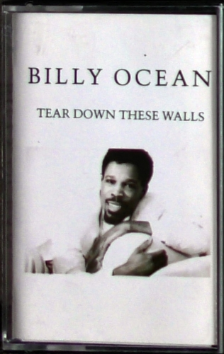 Billy Ocean ‎– Tear Down These Walls Jive - 856.101 Cassette, Album