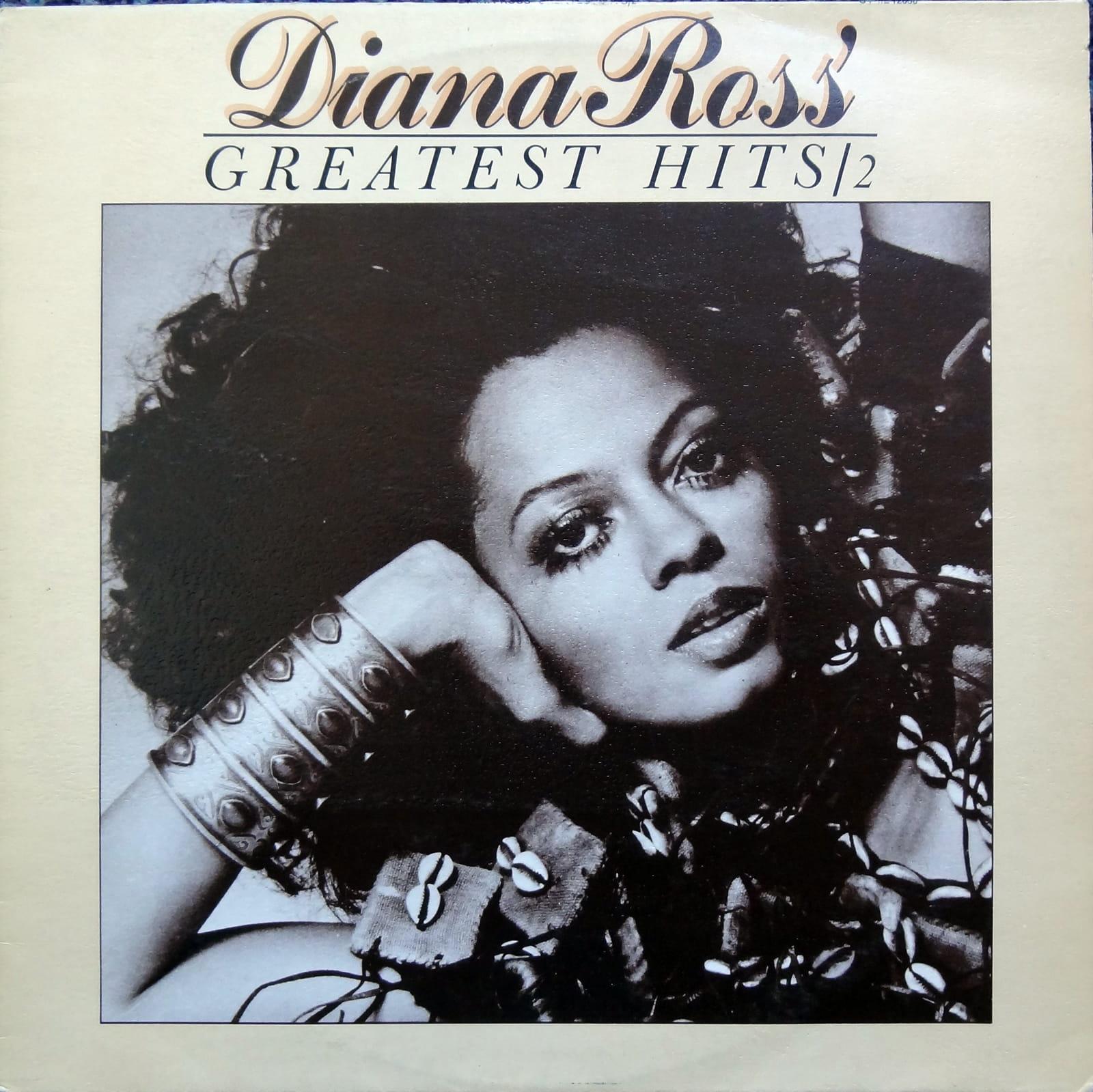 Diana Ross Greatest Hits 2 Stml 12036 A1 B2 Vinyl Winyl 唱片
