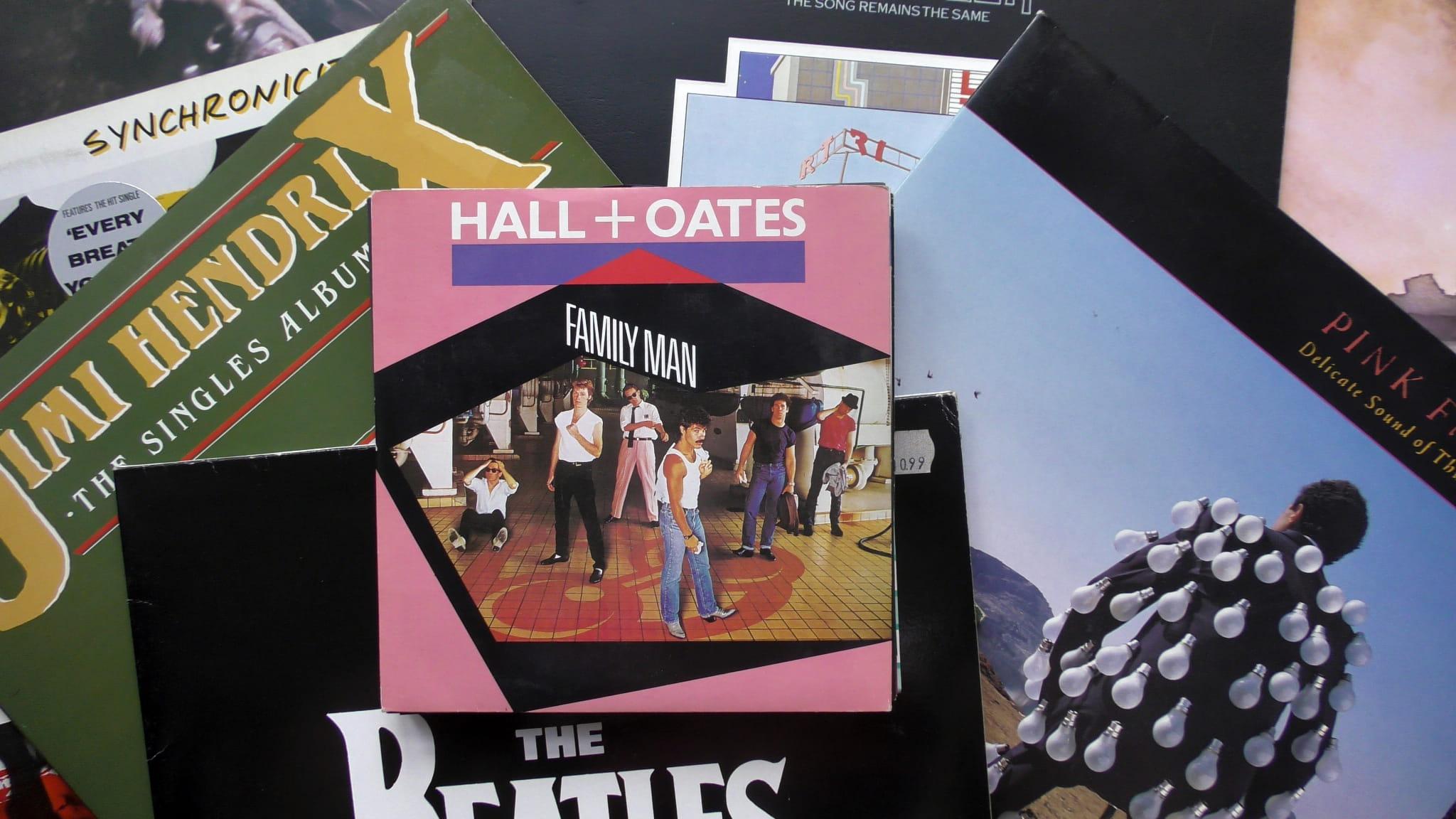 Hall + Oates – Family Man RCA – RCA 323 Vinyl, 7
