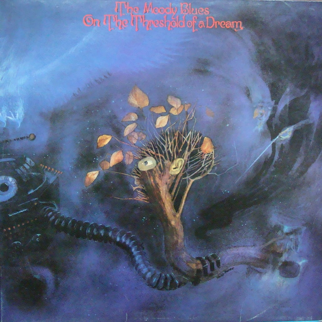 The Moody Blues On The Threshold Of A Dream Booklet