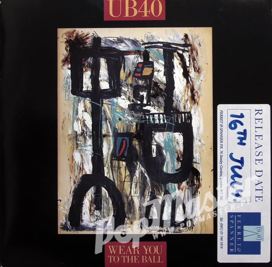Ub40 Wear You To The Ball Promo Copy Dep 36 Vinyl 7 Quot 45