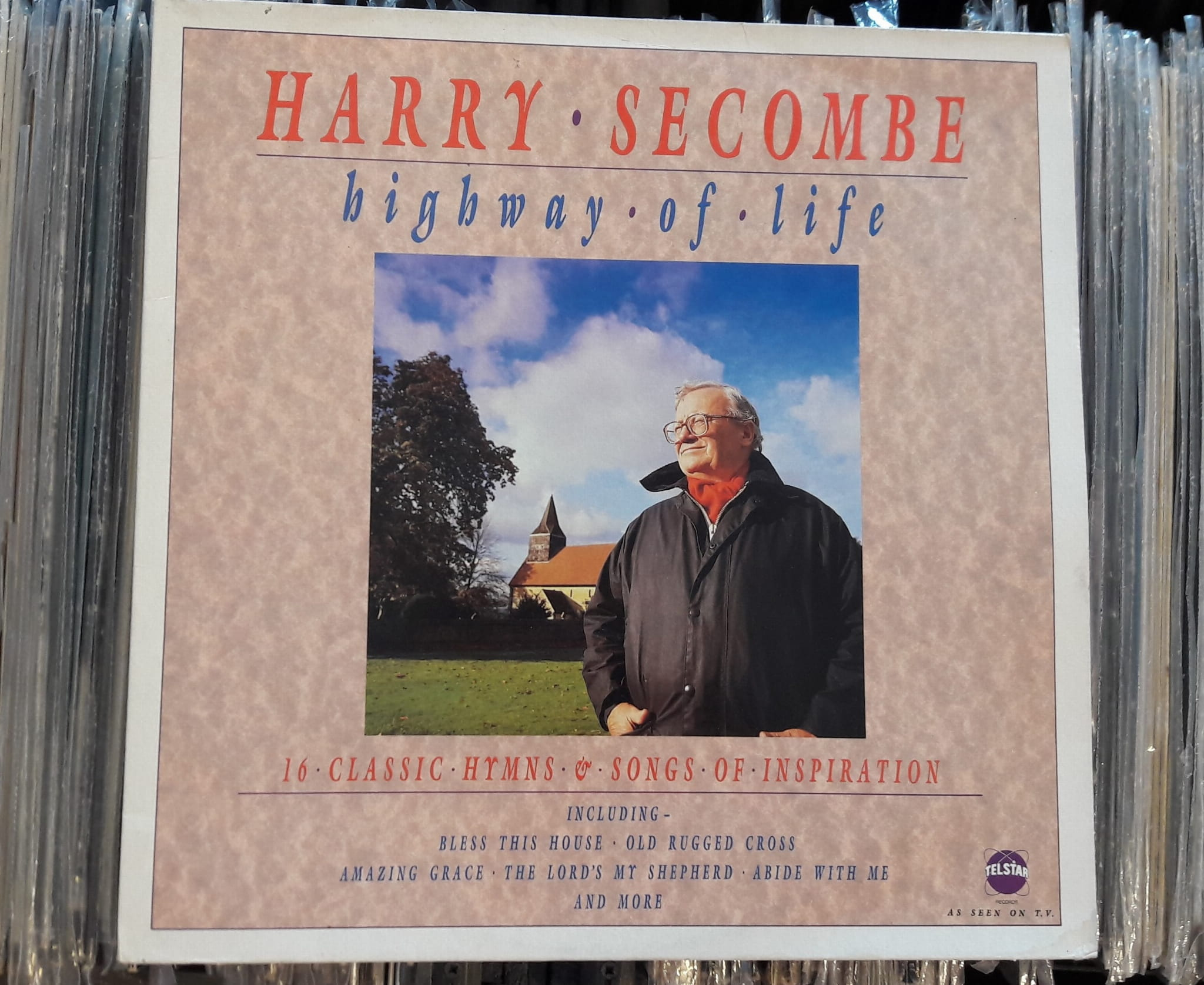Harry Secombe Highway Of Life Telstar Star 2289 Płyta Winylowa