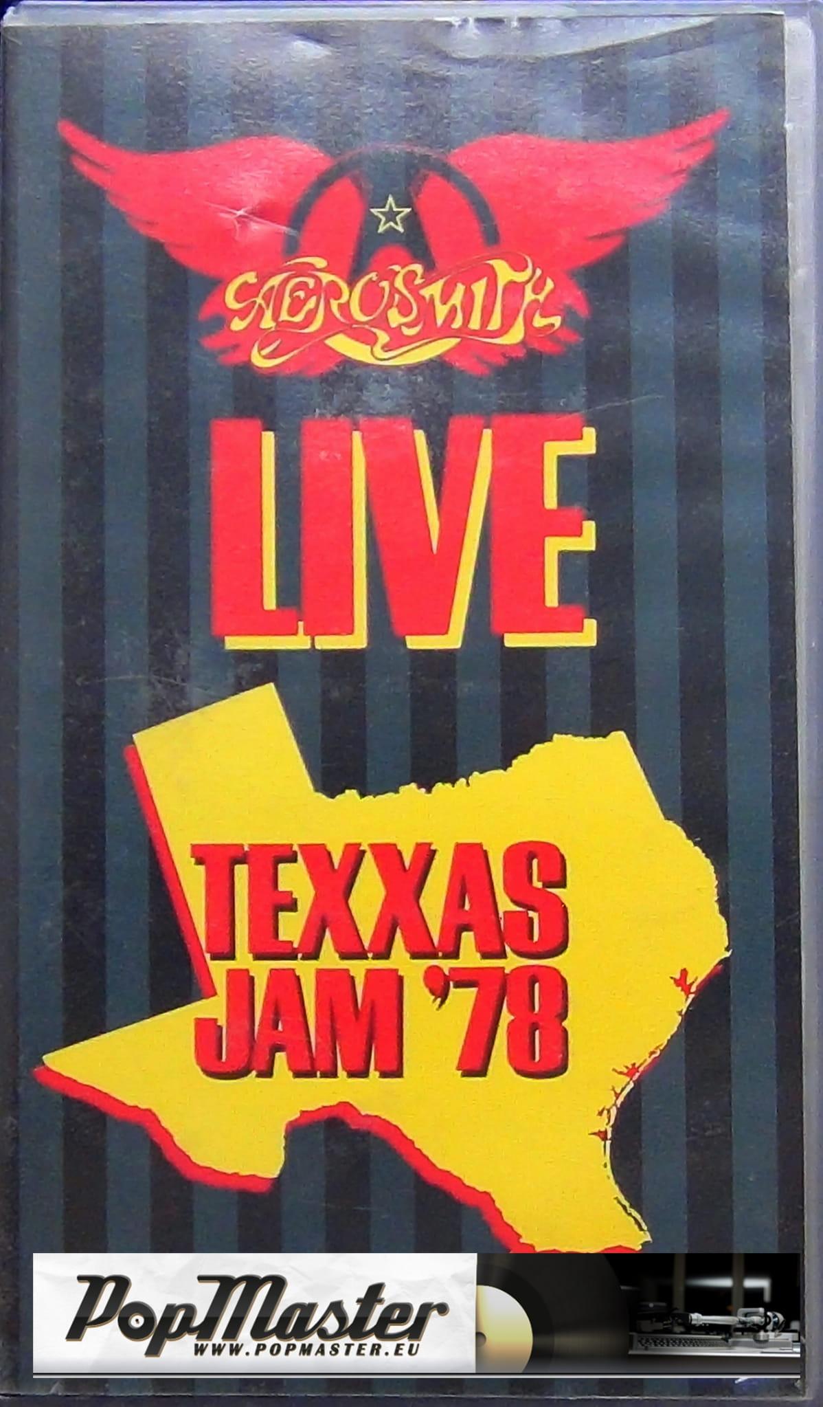 Aerosmith Live Texxas Jam 78 200811 2 Vhs Kaseta Www