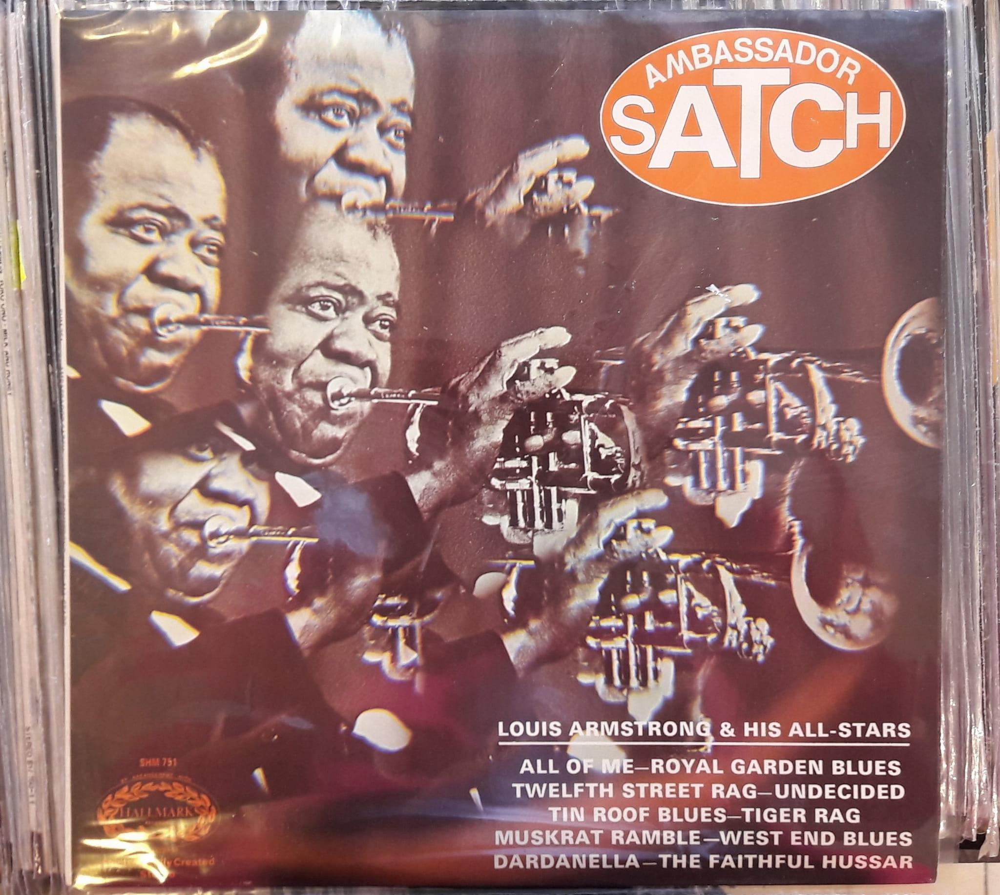 Louis Armstrong & His All-Stars– Ambassador Satch ,SHM 751 Vinyl, LP, Album