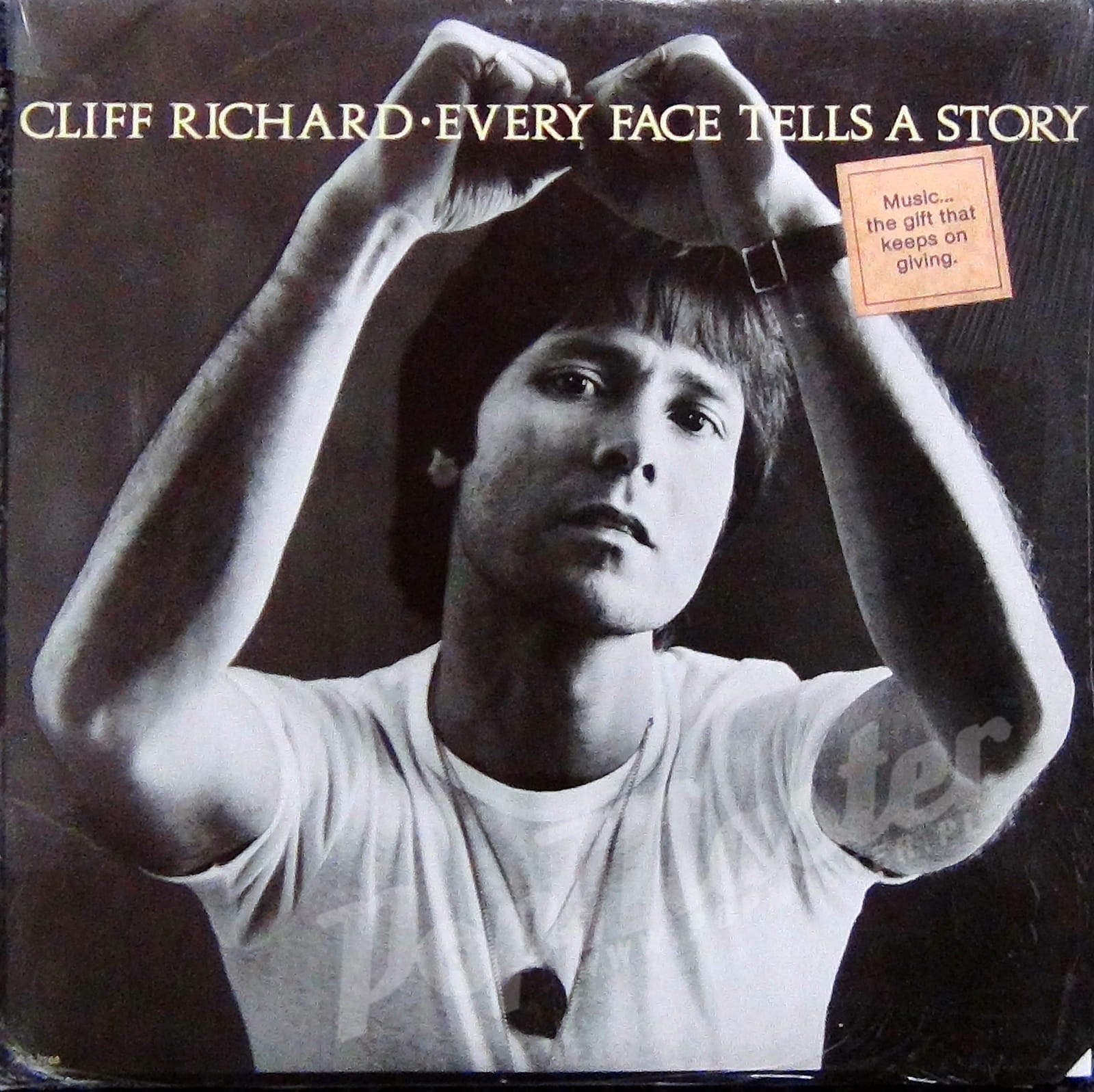 Cliff Richard Every Face Tells A Story PIG 2268 Cut Out Cover