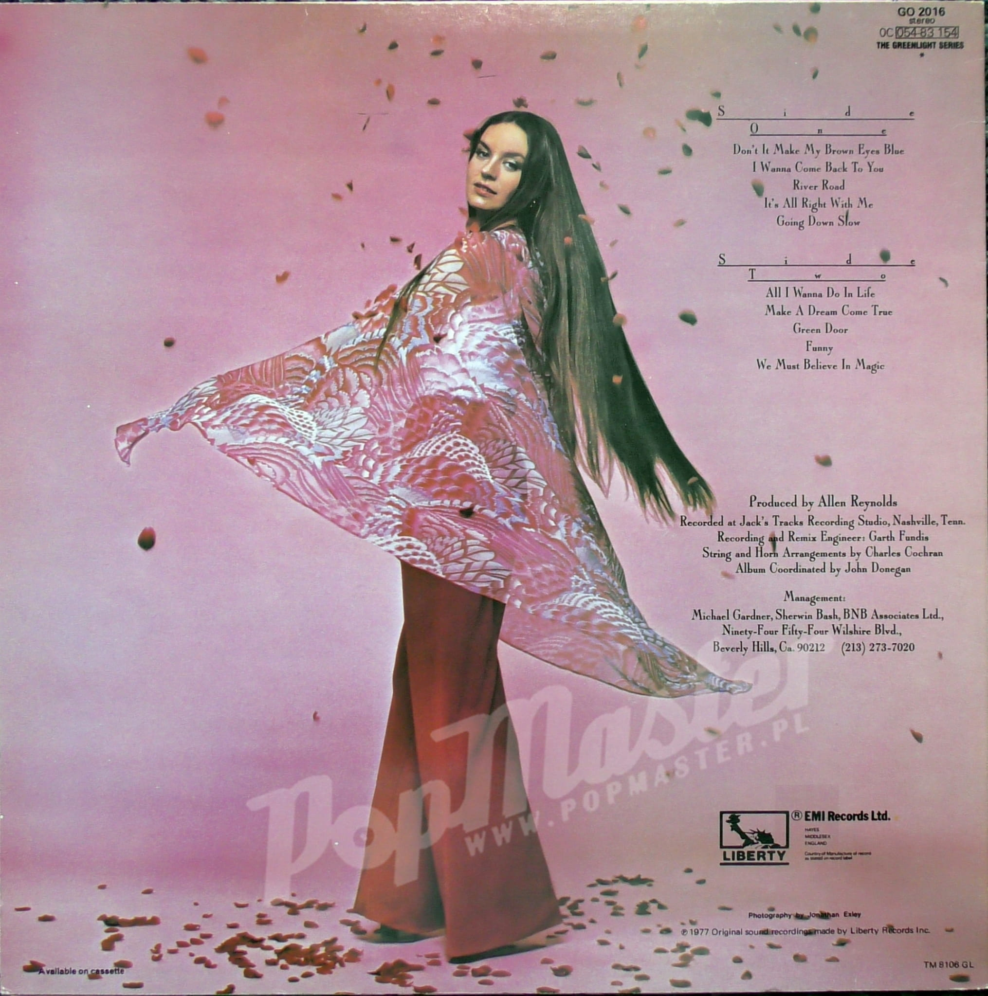 Crystal Gayle We Must Believe In Magic Go 2016 Record