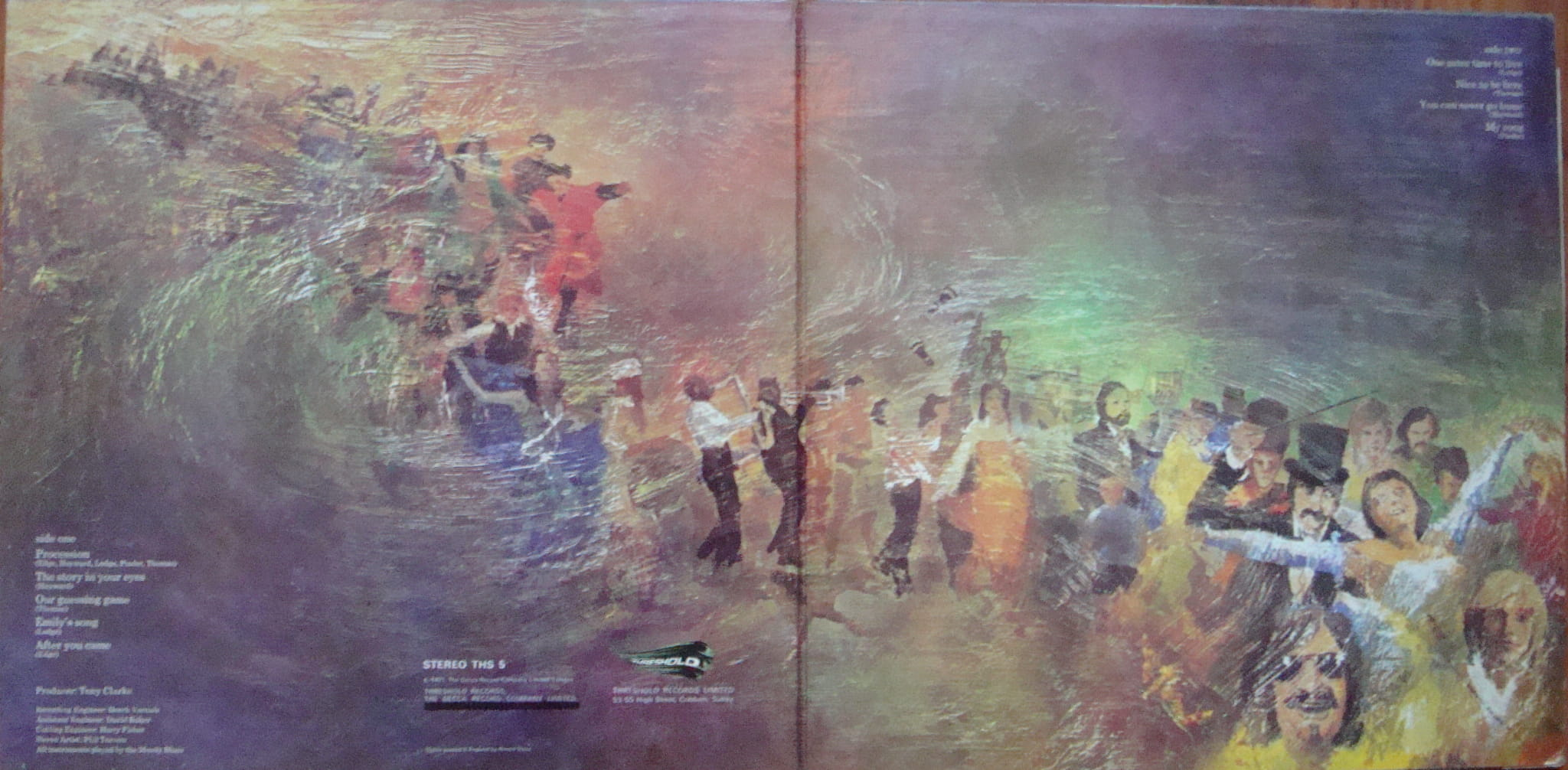 The Moody Blues – Every Good Boy Deserves Favour THS 5 + Insert Rock