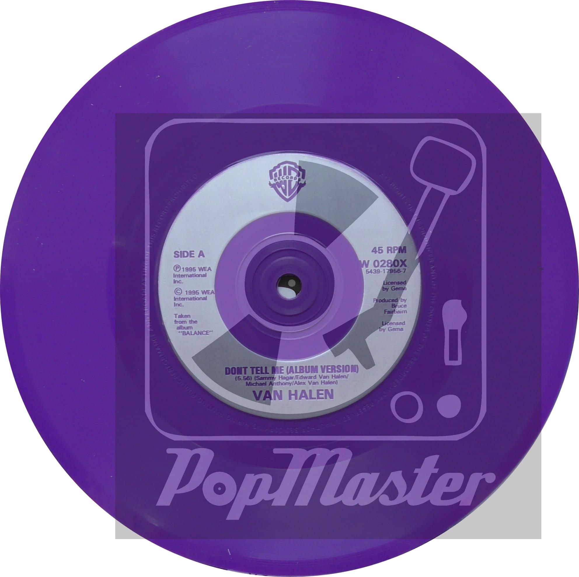 Van Halen Don T Tell Me Wea W0280x Vinyl 7 Quot Promo