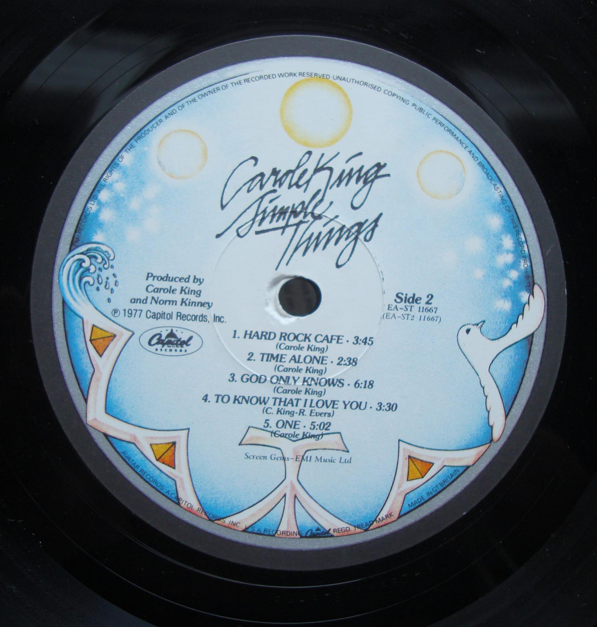 Carole King Simple Things