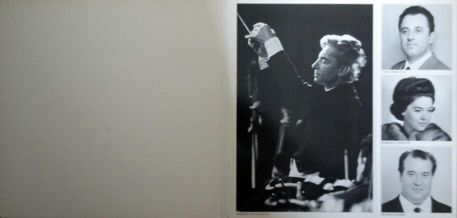 Herbert Von Karajan Mascagni Leoncavalio Cavalleria