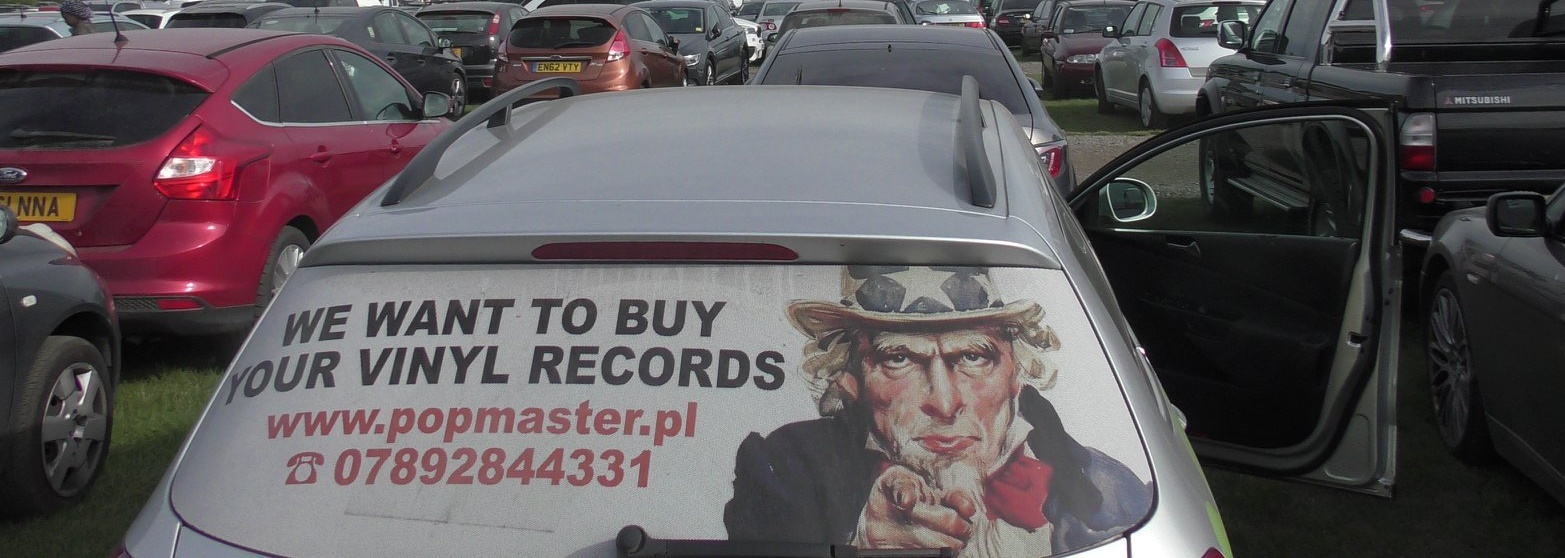 I want to buy your vinyl records. North London & NW, NE